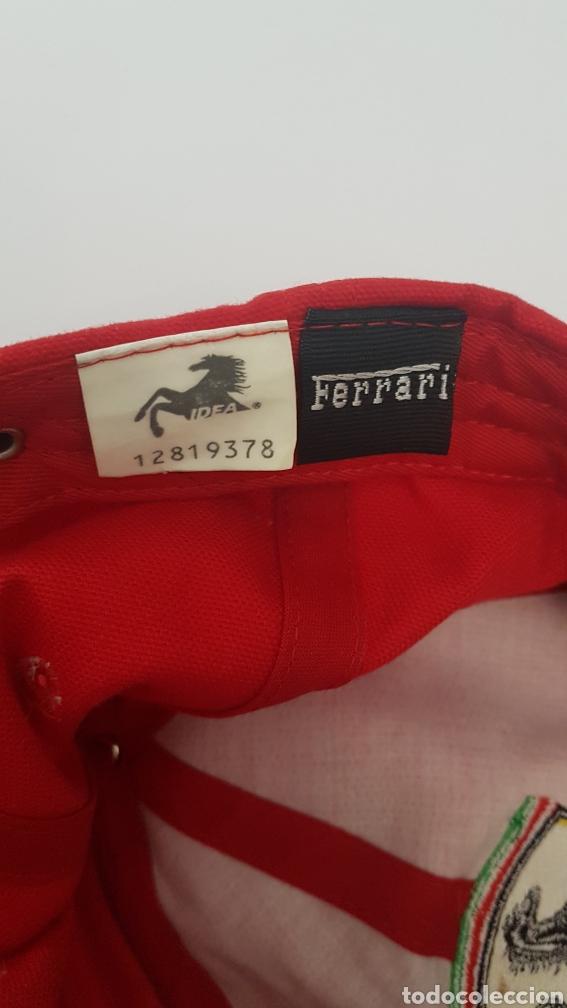 Coleccionismo deportivo: Gorra original escudería Ferrari - Foto 3 - 189537492