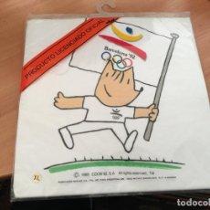Colecionismo desportivo: CAMISETA BARCELONA 92 COBI SIN ABRIR. TALLA XL MASSANA (AB-1). Lote 190076488