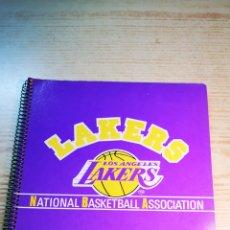 Coleccionismo deportivo: LAKERS LIBRETA CUADERNO GRANDE A ESTRENAR. OFICIAL NBA. Lote 191170686