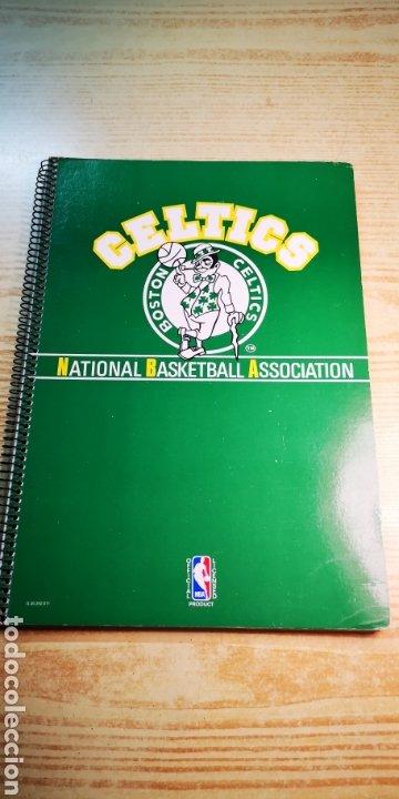 CELTICS DE BOSTON LIBRETA GRANDE A ESTRENAR. OFICIAL NBA (Coleccionismo Deportivo - Merchandising y Mascotas - Otros deportes)