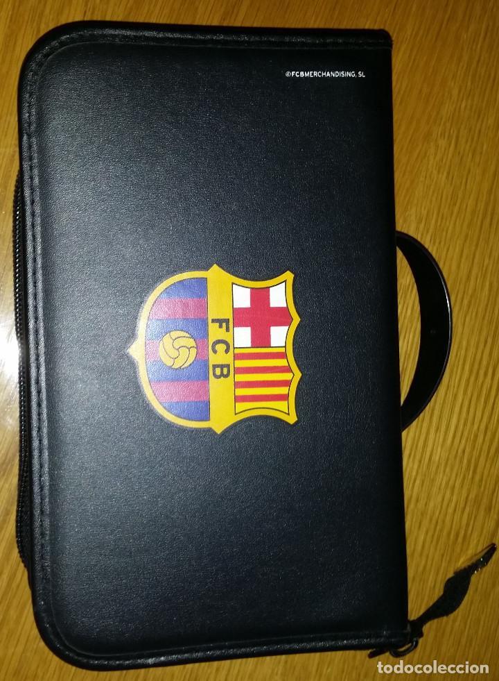 ESTUCHE FC BARCELONA PARA CD (Coleccionismo Deportivo - Merchandising y Mascotas - Otros deportes)