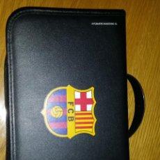 Coleccionismo deportivo: ESTUCHE FC BARCELONA PARA CD. Lote 195252371