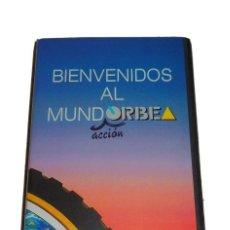 Coleccionismo deportivo: CINTA VHS DE MUNDO ORBEA EN ACCIÓN ANTIGUA BICICLETA BICI IDEAL COLECCIONISTAS!!. Lote 129170075