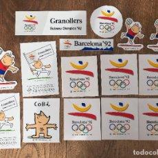 Coleccionismo deportivo: PEGATINAS BARCELONA 92. Lote 197530482