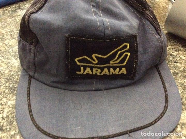 Coleccionismo deportivo: Antigua gorra Gorra circuito jarama Madris - Foto 2 - 199990741