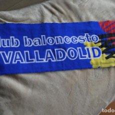 Coleccionismo deportivo: BUFANDA DEL CLUB BALONCESTO VALLADOLID PUBLICIDAD CAJA DUERO ACB. Lote 200518940
