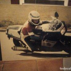 Coleccionismo deportivo: PÓSTER MOTOCICLISMO 1987 ENMARCADO. Lote 206384655