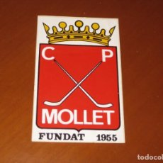 Coleccionismo deportivo: ADHESIVO CLUB PATIN MOLLET 1955. Lote 206394367
