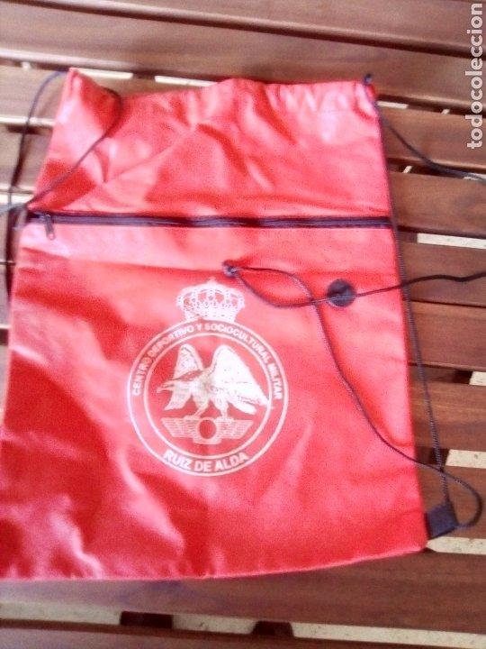 MOCHILA MOTIVO CLUB MILITAR RUIZ DE ALDA (Coleccionismo Deportivo - Merchandising y Mascotas - Otros deportes)