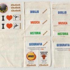 Coleccionismo deportivo: MULTIPEGATINA CHOLECK, NBA, BALONCESTO,C.B. LLIRIA, 1986. Lote 217494711
