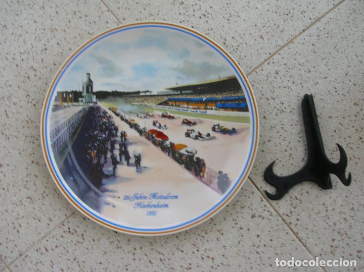 Coleccionismo deportivo: plato decorado - Foto 2 - 218408277