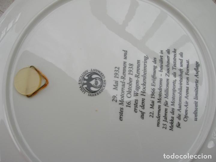 Coleccionismo deportivo: plato decorado - Foto 3 - 218408277