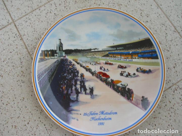PLATO DECORADO (Coleccionismo Deportivo - Merchandising y Mascotas - Otros deportes)