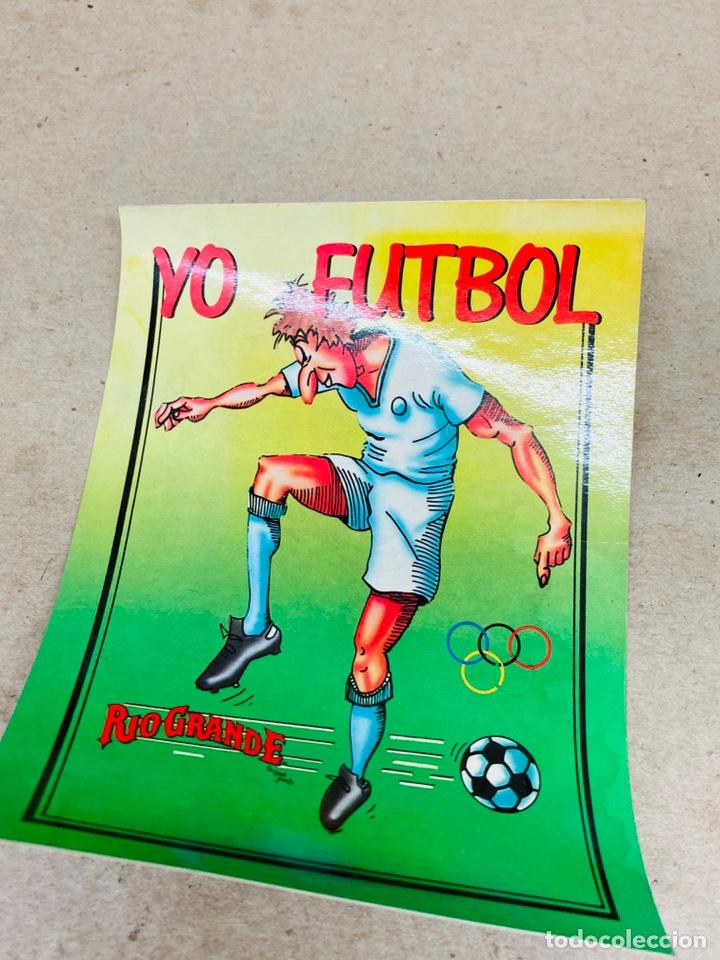 PEGATINA YO FÚTBOL ANTIGUA (Coleccionismo Deportivo - Merchandising y Mascotas - Otros deportes)