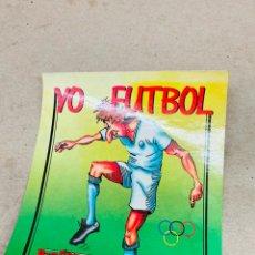 Coleccionismo deportivo: PEGATINA YO FÚTBOL ANTIGUA. Lote 218716092