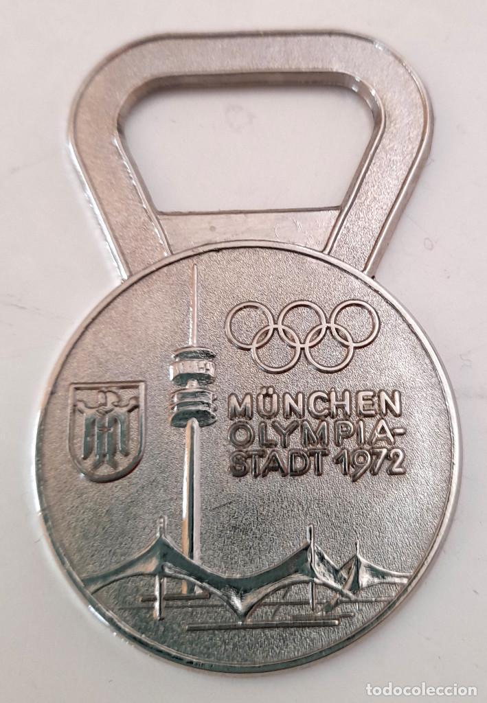 ABRIDOR ABRE BOTELLAS OLIMPIADAS MUNICH 1972 MUNCHEN GERMANY ALEMANIA (Coleccionismo Deportivo - Merchandising y Mascotas - Otros deportes)