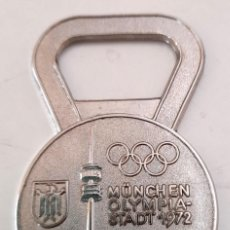 Coleccionismo deportivo: ABRIDOR ABRE BOTELLAS OLIMPIADAS MUNICH 1972 MUNCHEN GERMANY ALEMANIA. Lote 221077498