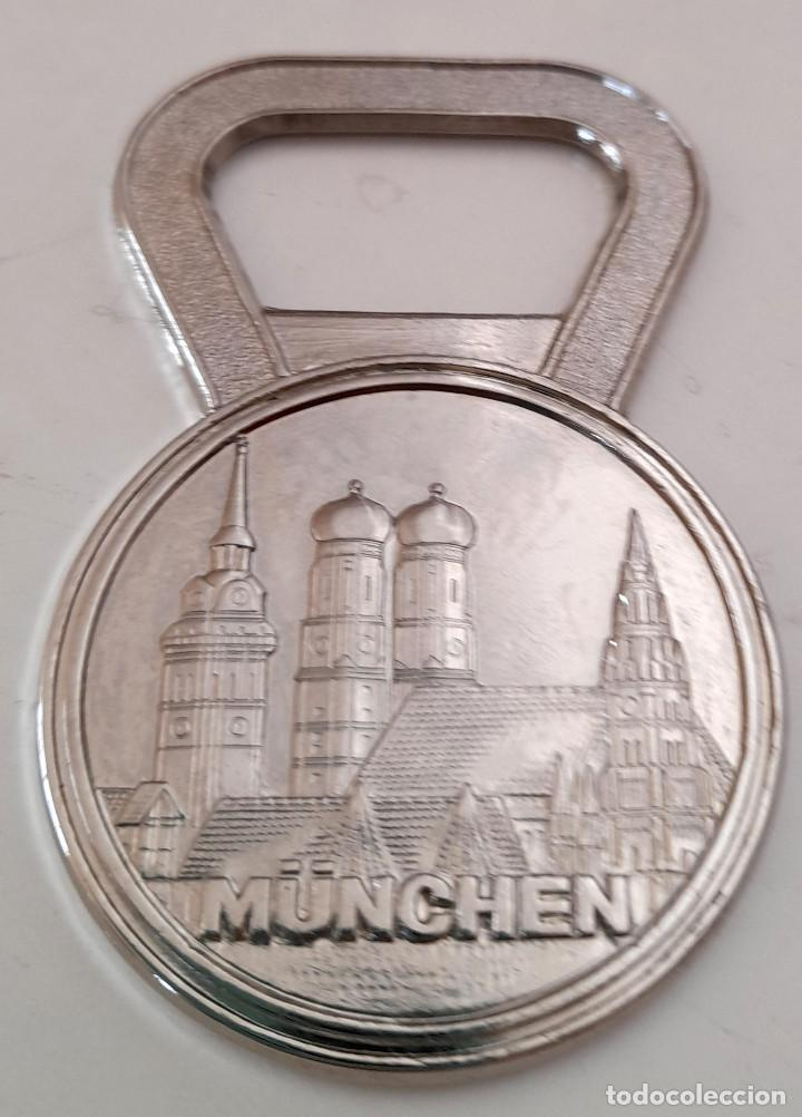 Coleccionismo deportivo: Abridor abre botellas Olimpiadas Munich 1972 Munchen Germany Alemania - Foto 2 - 221077498