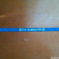 Coleccionismo deportivo: PULSERA CD ALMIRANTES BALONCESTO. Lote 221794231