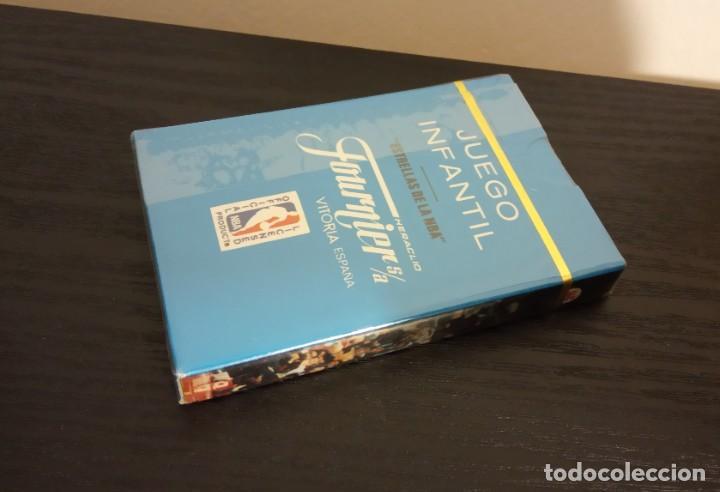 Coleccionismo deportivo: --BARAJA HERACLIO FOURNIER CARTAS BASKET ESTRELLAS DE LA NBA 1988 . BARAJA NUEVA SIN ABRIR - Foto 3 - 222847157