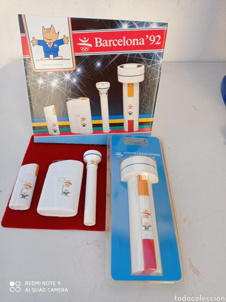 BARCELONA 92 COBI JUEGO DE LINTERNAS OLIMPIADA 92 (Coleccionismo Deportivo - Merchandising y Mascotas - Otros deportes)
