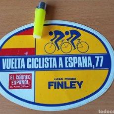 Colecionismo desportivo: VUELTA CICLISTA S ESPAÑA 1977, PEGATINA. Lote 224297576