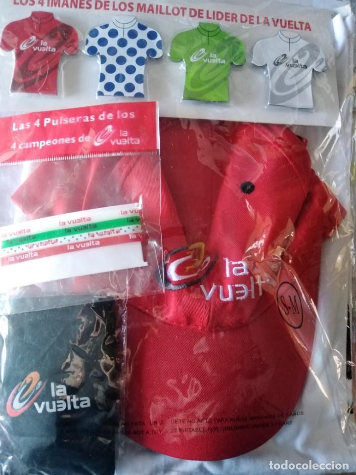 MERCHANDAISING VUELTA CICLISTA A ESPAÑA 2013 (Coleccionismo Deportivo - Merchandising y Mascotas - Otros deportes)