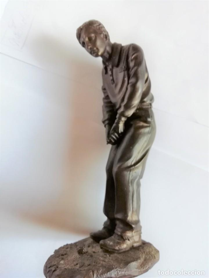 Coleccionismo deportivo: Golfista figura de jugador de golf de resina 19 cm. de altura Está para recoger en Murcia - Foto 8 - 226430561