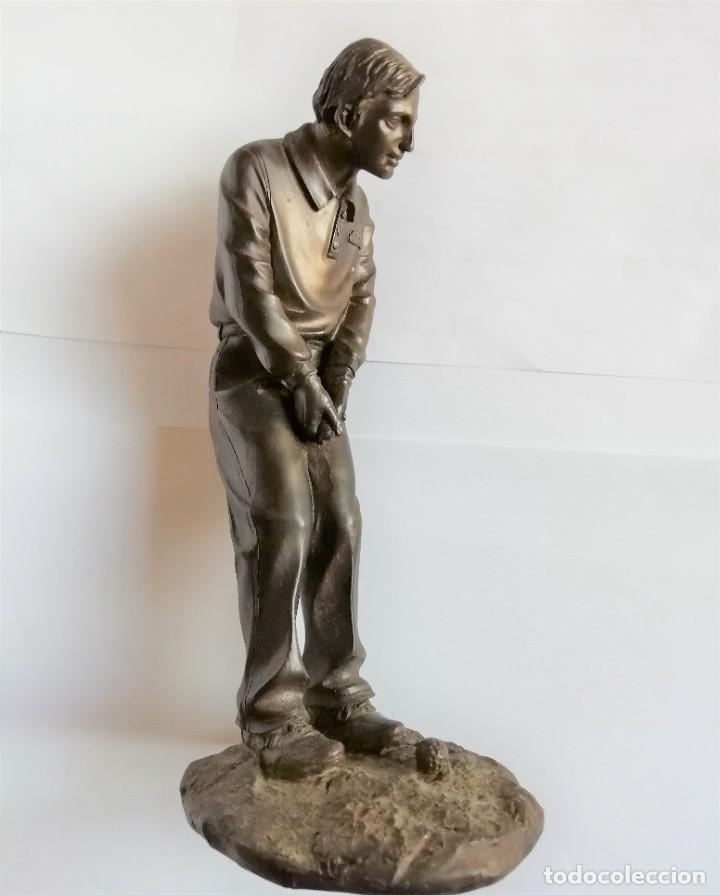 Coleccionismo deportivo: Golfista figura de jugador de golf de resina 19 cm. de altura Está para recoger en Murcia - Foto 9 - 226430561
