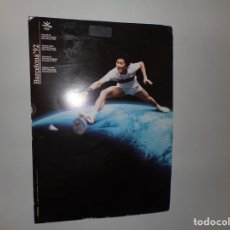 Coleccionismo deportivo: POSTER DE CARTON JUEGOS DE LA OLYMPIADA BARCELONA 92. Lote 233134535