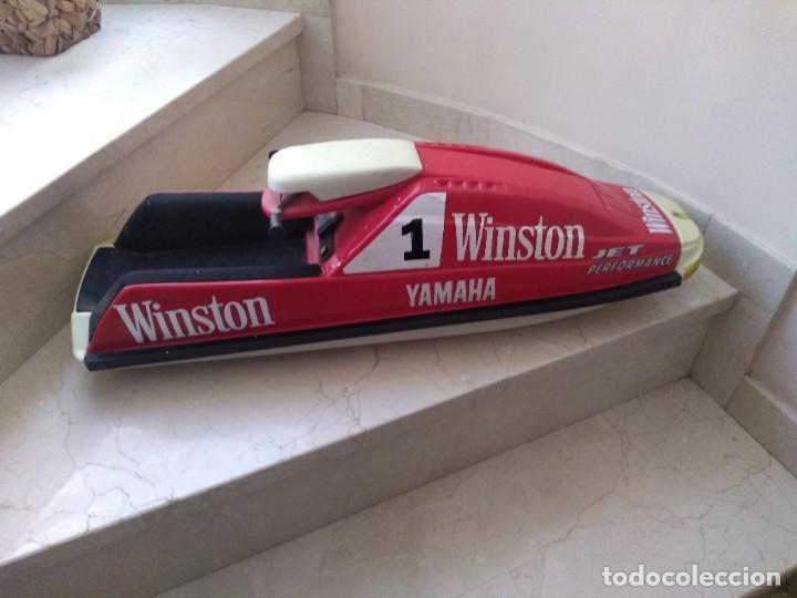 Coleccionismo deportivo: Maqueta publicidad Winston Jet Ski 70 cms largo - Foto 3 - 244880735