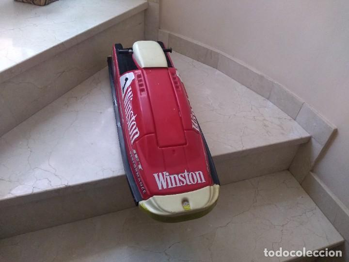 Coleccionismo deportivo: Maqueta publicidad Winston Jet Ski 70 cms largo - Foto 4 - 244880735