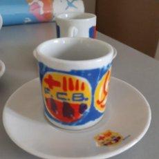 Coleccionismo deportivo: JUEGO DE CAFÉ BARÇA. Lote 193907462