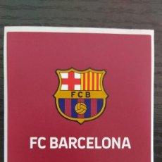 Coleccionismo deportivo: FÚTBOL CLUB BARCELONA, ETIQUETA DE VINO, ESCUDO F.C. BARCELONA. EL BARÇA CATALUNYA - WINE LABEL. Lote 253639430