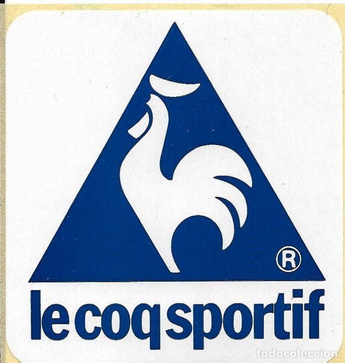 ETIQUETA ADHESIVA DE LE COQ SPORTIF (Coleccionismo Deportivo - Merchandising y Mascotas - Otros deportes)