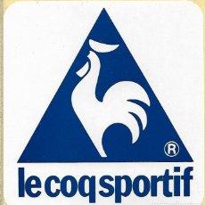 Coleccionismo deportivo: ETIQUETA ADHESIVA DE LE COQ SPORTIF. Lote 261932730