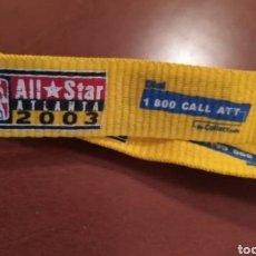 Coleccionismo deportivo: LLAVERO CON CINTA NBA ALL STAR WEEKEND 2003. Lote 262148490