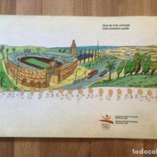 Collectionnisme sportif: GUIA DEL COBI ANIMADO COBI ANIMATION GUIDE OLIMPIADAS BARCELONA 1992 DISEÑO JAVIER MARISCAL. Lote 266065293