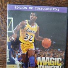 Coleccionismo deportivo: MAGIC JOHNSON - DVD ORIGINAL NBA -. Lote 269106503