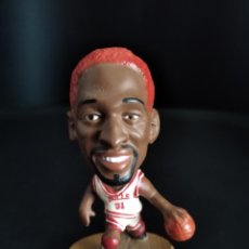 Coleccionismo deportivo: DENNIS RODMAN, CHICAGO BULLS - FIGURA PVC NBA - MARCA: CORINTHIAN 1997 - BASKET BALONCESTO. Lote 269128083
