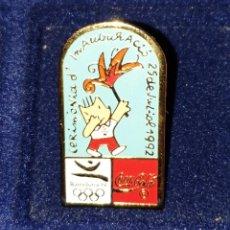 Coleccionismo deportivo: PIN DE COBI CEREMONIA INAUGURAL OLIMPIADAS BARCELONA 92 OLYMPIC GAMES. Lote 277541083