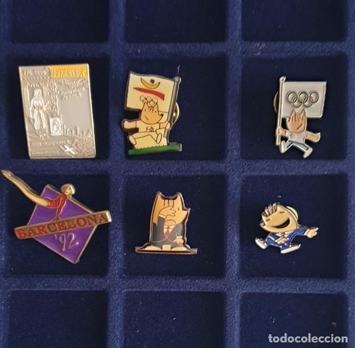 6 PIN DE LAS OLIMPIADAS BARCELONA 92 OLYMPIC GAMES (Coleccionismo Deportivo - Merchandising y Mascotas - Otros deportes)