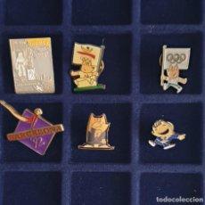 Coleccionismo deportivo: 6 PIN DE LAS OLIMPIADAS BARCELONA 92 OLYMPIC GAMES. Lote 277541398