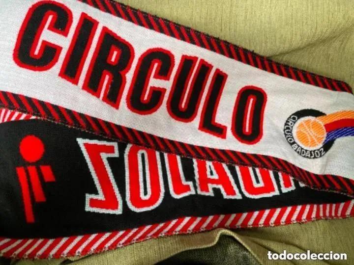 ANTIGUA BUFANDA BALONCESTO CÍRCULO BADAJOZ (Coleccionismo Deportivo - Merchandising y Mascotas - Otros deportes)