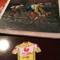 Coleccionismo deportivo: PEGATINA DE CICLISMO SAUNIER DUVAL AÑOS 80 . ADHESIVO. Lote 288129868
