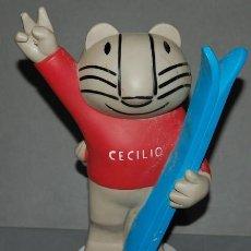 Coleccionismo deportivo: CECILIO MASCOTA SIERRA NEVADA 95 JUEGOS OLIMPICOS DE INVIERNO. Lote 294973613
