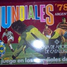 Coleccionismo deportivo: JUEGO DE MESA DE LOS MUNDIALES 78 ARGENTINA. Lote 27225782