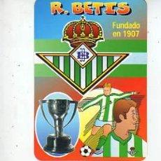 Coleccionismo deportivo: PAREJA DE CALENDARIOS DEL REAL BETIS BALONPIE -DEL 2000. Lote 7851339