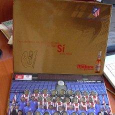 Coleccionismo deportivo: ATLÉTICO DE MADRID - CHAPA, CHAPAS CERVEZA MAHOU 2007-2008, 07-08 - COMPLETO - VER FOTOS. Lote 23449619