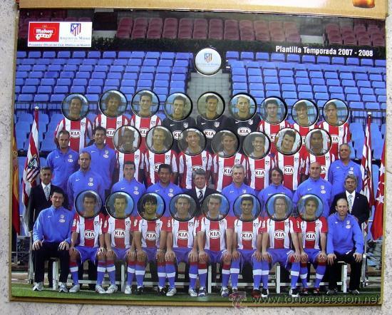 Coleccionismo deportivo: Atlético de Madrid - Chapa, chapas Cerveza Mahou 2007-2008, 07-08 - completo - ver fotos - Foto 3 - 23449619